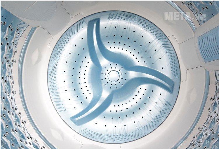 Máy giặt cửa trên 10.5 kg Toshiba ME1150GVWK với thiết kế lồng giặt