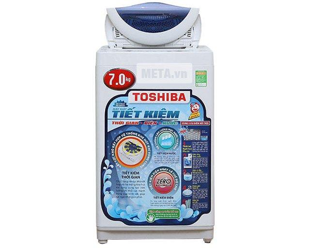 Máy giặt cửa trên 7 kg Toshiba A800SV giúp bạn chăm sóc gia đình chu đáo hơn.