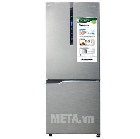Tủ lạnh 255 lít Panasonic NR-BV288XSVN thiết kế sang trọng, độc đáo.