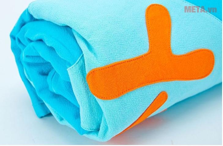 Máy giặt cửa trên 8kg Panasonic NA-F80VG8WRV có thể giặt khối lượng quần áo lớn.