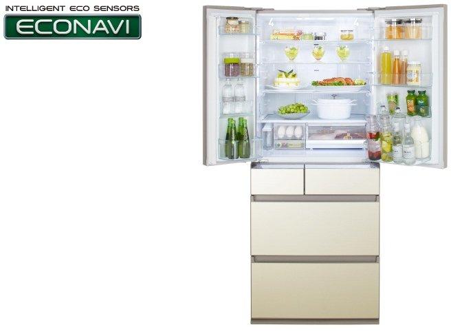 Tủ lạnh Panasonic NR-F610GT-N2 588 lít tích hợp cảm biến ECONAVI.