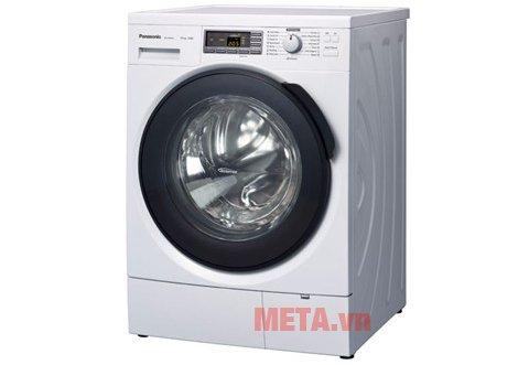 Máy giặt cửa trước 10 kg Panasonic NA-140VS4WVT có ngoại hình tương đối bắt mắt.