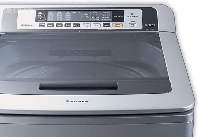 Máy giặt cửa trên 14 kg Panasonic NA-FS14G3ARV bảng điều khiển thông minh