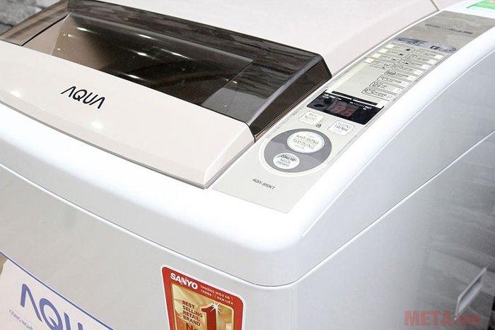 Máy giặt cửa trên AQUA 8kg AQW-S80KT trang bị 8 chế độ giặt khác nhau
