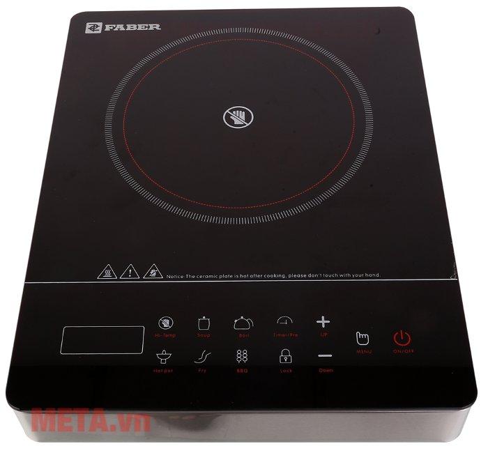 Bếp điện đơn Faber FB-1ED có nút cảm ứng tiện dụng