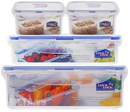 Hộp bảo quản thức ăn Lock&Lock đa dạng nhiều kích thước