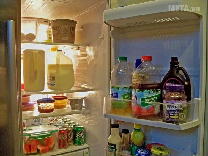 Hạn chế tắt bật hoặc đóng mở cửa tủ lạnh.