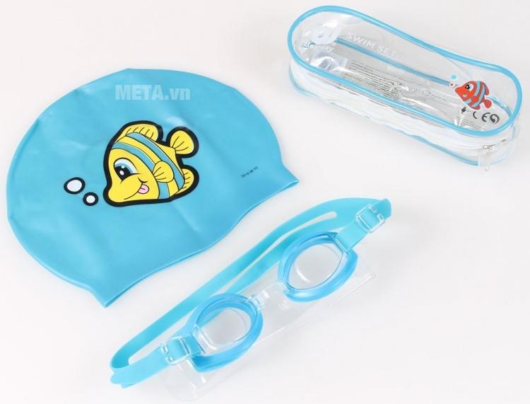 Bộ mũ và kính bơi dành cho trẻ em Bestway 26026