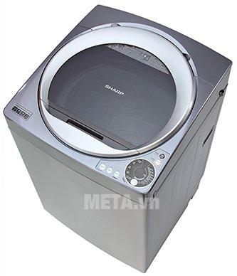 Máy giặt cửa trên Sharp 9.5kg U95HVS giúp tiết kiệm nước hiệu quả
