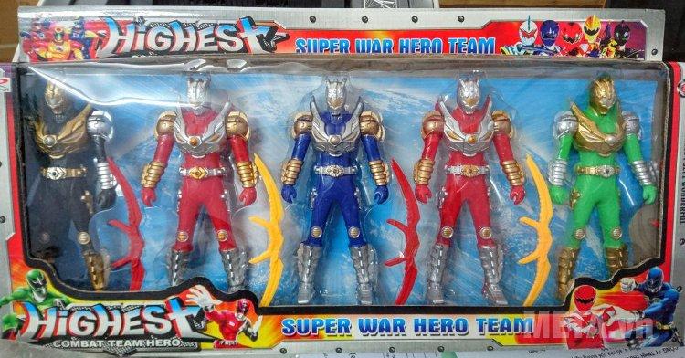 Hình ảnh đồ chơi 5 anh em siêu nhân 666-1