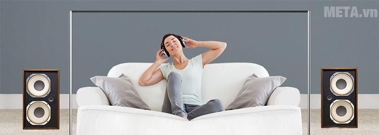 Công nghệ loa xoắn ốc mang đến thế giới âm thanh du dương, trong trẻo.