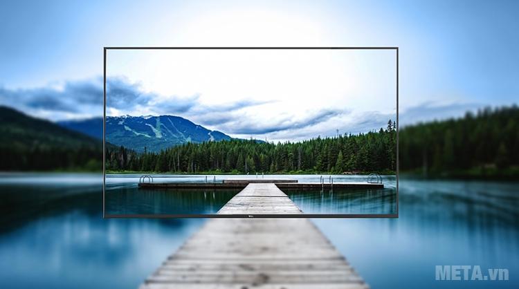 Tivi Smart 43 inch TCL L43P1-SF cho khung hình sắc nét, chân thực.