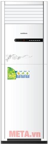 Điều hòa tủ đứng 1 chiều 28000 BTU Sumikura APF/APO-280 tiết kiệm tối đa điện năng tiêu thụ.
