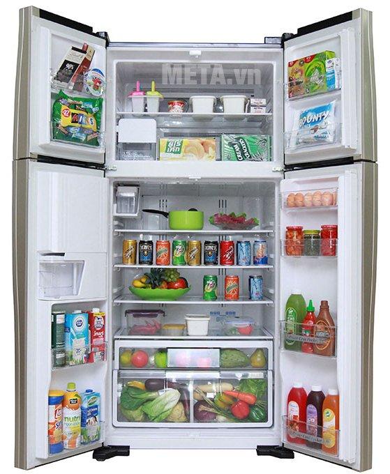 Tủ lạnh Hitachi 540L Inverter R-W690PGV7-GBW