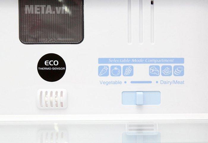 Tủ lạnh 405 lít Hitachi WB475PGV2 trang bị cảm biến Eco thông minh