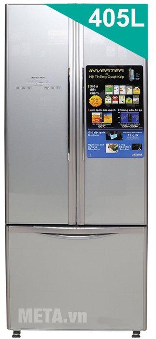 Hình ảnh tủ lạnh 405 lít Hitachi WB475PGV2