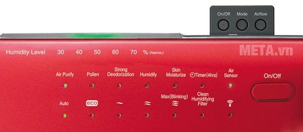 Máy lọc không khí Hitachi EP-A6000 vận hành êm ái, tiết kiệm điện