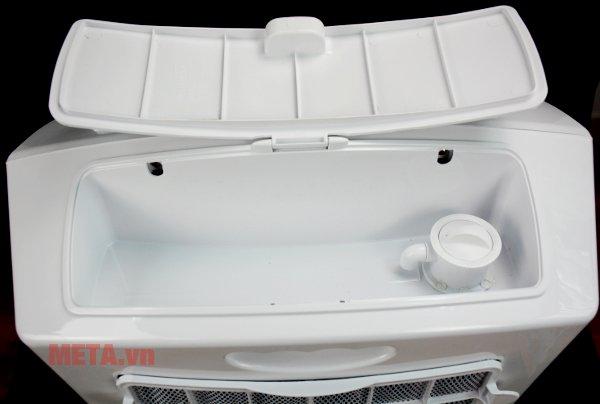 Máy làm mát Symphony Hicool i thiết kế khay đựng nước tiện ích.