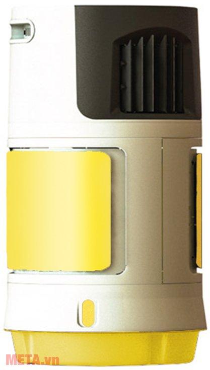 Quạt điều hòa Sunhouse SHD7707 màu vàng.