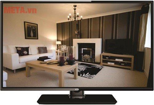 Tivi LED 32 inch VTB LV3272 có kiểu dáng sang trọng, hiện đại.