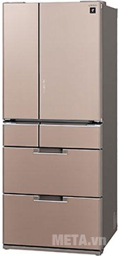 Tủ lạnh 470 lít Sharp SJ-GF60A-T thiết kế sang trọng