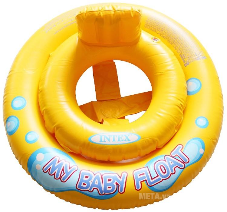 Phao bơi chống lật Intex 50574 có thiết kế bắt mắt.