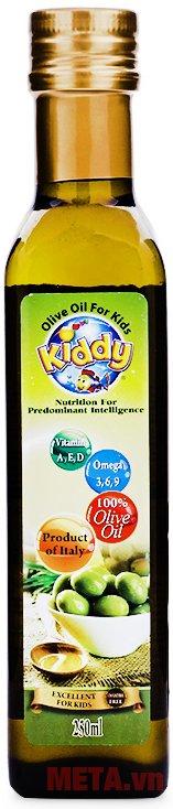 Hình ảnh của dầu ăn cho trẻ em Kiddy Oliu 250ml