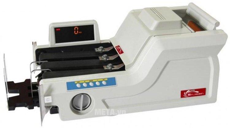 Máy đếm tiền phát hiện tiền siêu giả Silicon MC-8800 cao cấp thông minh