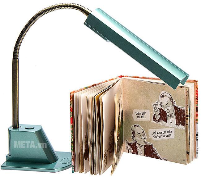 Đèn bàn cao cấp V-light FGL 13w màu xanh ngọc