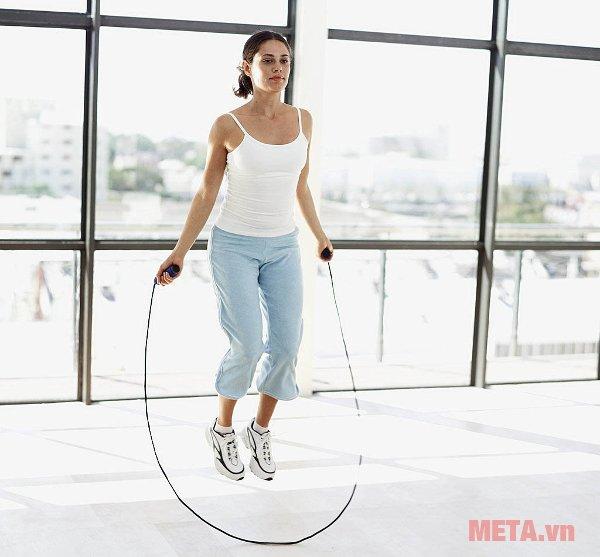Nhảy dây là bộ môn đơn giản nhưng giúp tăng chiều cao hiệu quả