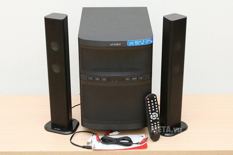 Loa Fenda T-200X - 2.1 cho âm thanh chân thật, sống động