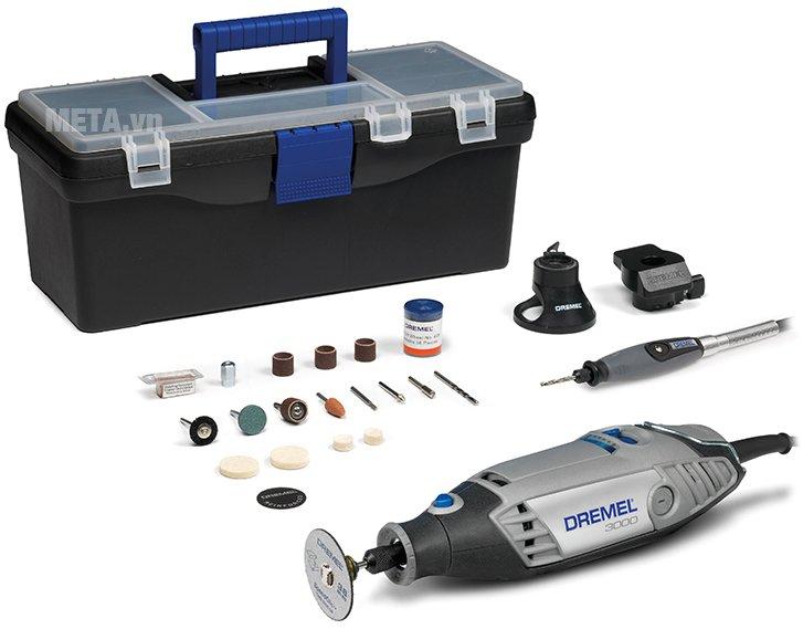 Bộ dụng cụ đa năng Dremel 3000 3/55 Silver kit