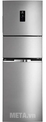Tủ lạnh Inverter 260 lít Electrolux EME2600MG có thiết kế 3 cửa