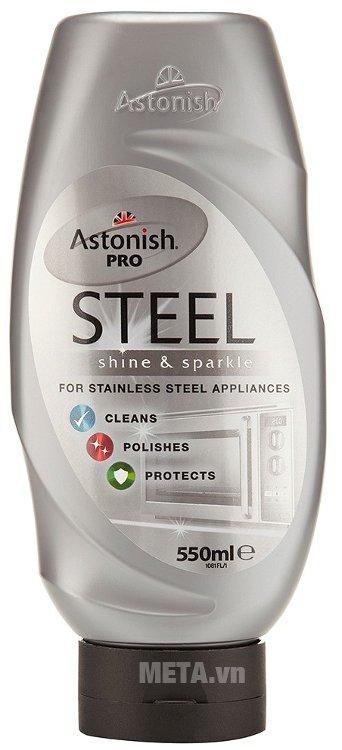Hình ảnh chất tẩy rửa kim loại Astonish Pro Steel 550ml