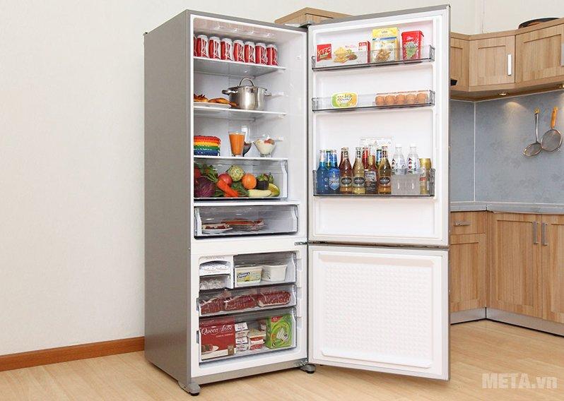 Tủ lạnh 405 lít Panasonic NR-BX468XSVN