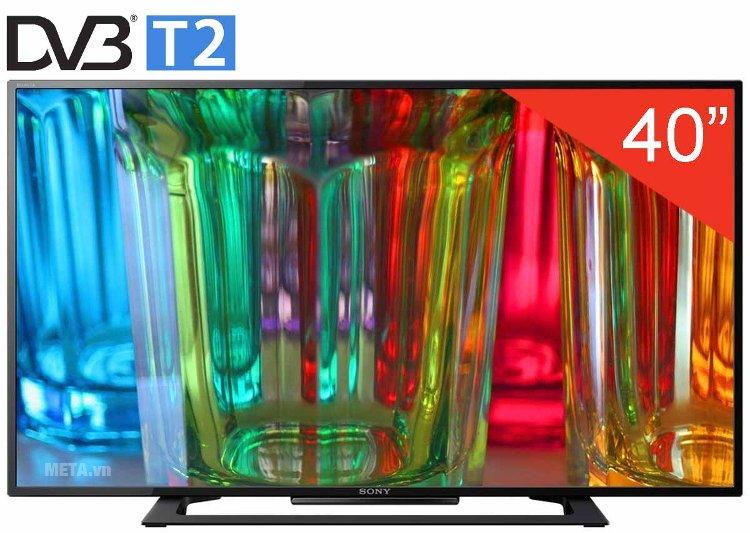 Tivi led 40 inch Sony 40R350D Full HD sở hữu kiểu dáng hiện đại