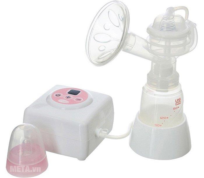 Hình ảnh của máy hút sữa điện đơn Allegro Unimom có massage silicone UM880106