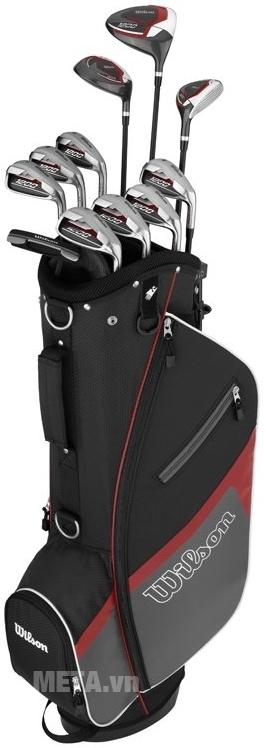 Bộ gậy golf chính là dụng cụ hữu ích với bạn khi chơi bộ môn thể thao này