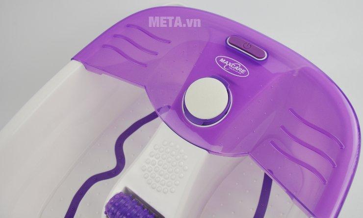 Bồn ngâm massage chân Max-641C có nút nhấn dễ sử dụng