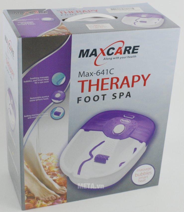 Bao bì có quai xách của bồn ngâm massage chân Max-641C