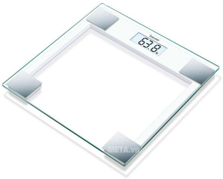 Hình ảnh cân sức khỏe mặt kính Beurer GS14