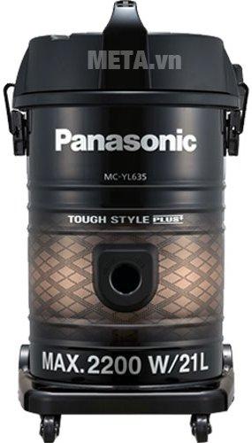 Máy hút bụi Panasonic PAHB-MC-YL635TN46 được thiết kế tiện dụng