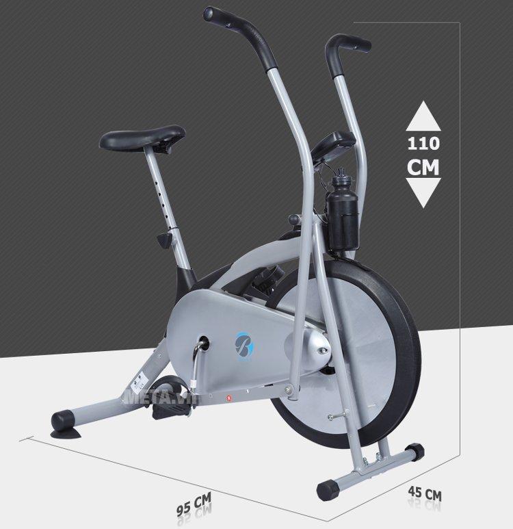 Tập thể dục mỗi ngày với xe đạp tập liên hoàn 8.2I để cơ bắp săn chắc và dẻo dai hơn