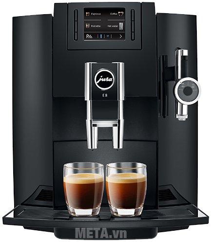 Hình ảnh máy pha cà phê tự động Jura Impressa E8