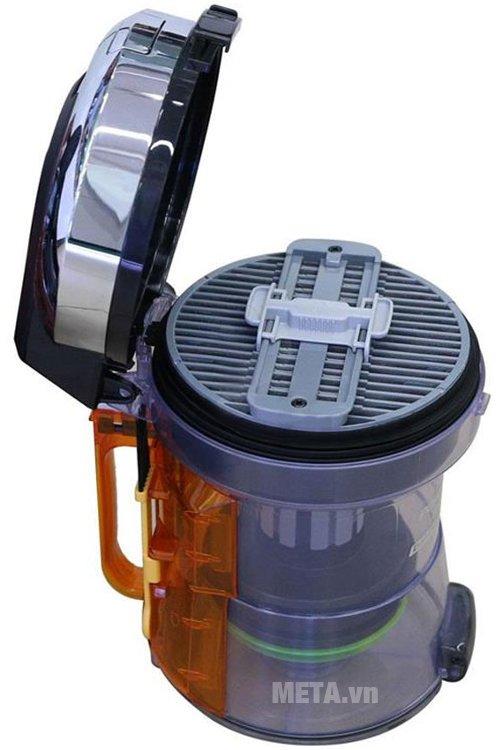 Máy hút bụi Hitachi CV-SC230V được trang bị hệ thống lọc khử mùi tiên tiến, an toàn