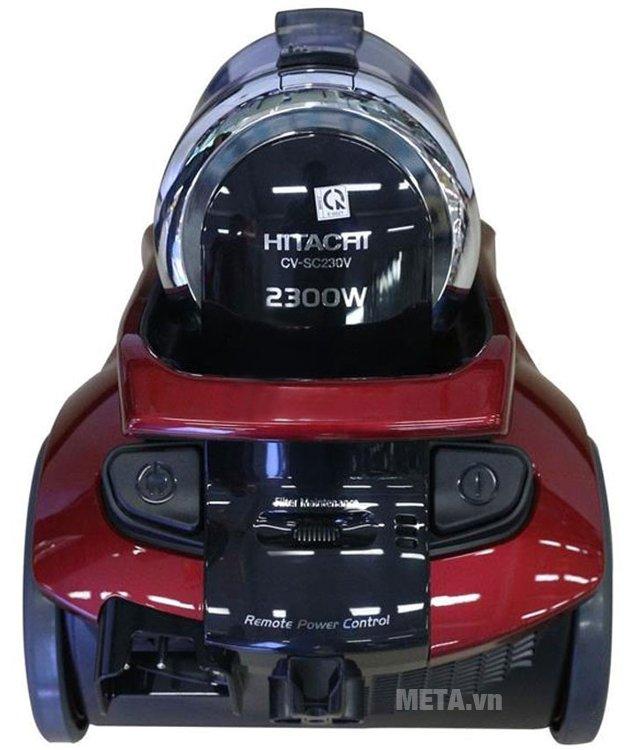 Máy hút bụi Hitachi CV-SC230V giúp hút sạch bụi bẩn nhanh chóng