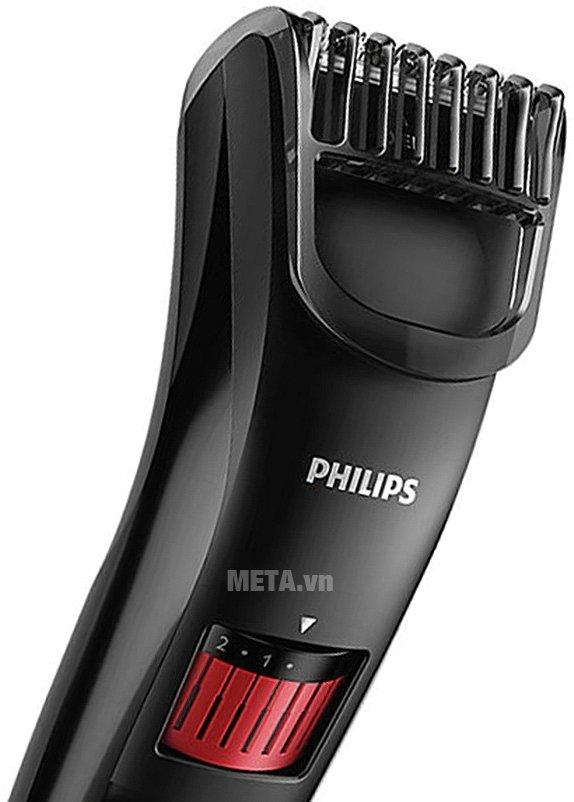 Máy tạo kiểu râu Philips QT4005 có thiết kế đẹp mắt