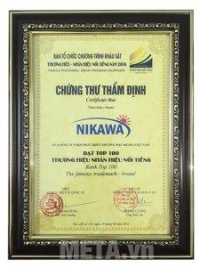 Thang nhôm gấp chữ A Nikawa NKD-03 đạt chất lượng cao cấp