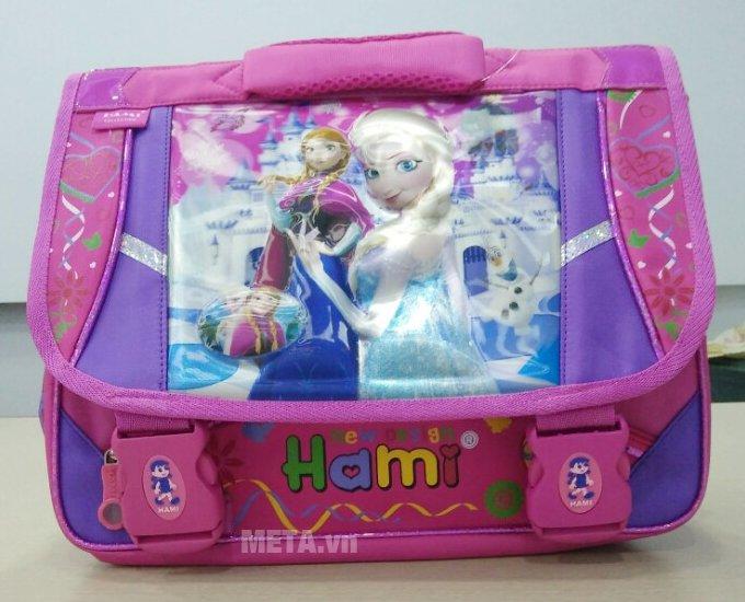 Cặp học sinh Hami C133 có họa tiết cô gái