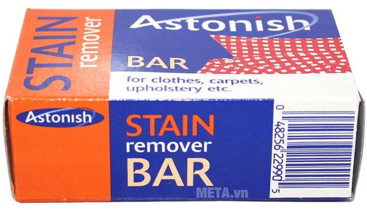 Hộp đựng của chất tẩy rửa vết bẩn trên vải Astonish 75g